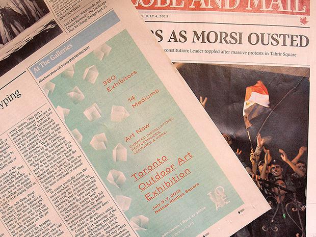 Globe & Mail Ad