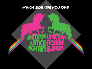 Unicorn Justice Fighter/Unicorn Robber Baron Una Lee